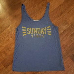 'SUNDAY VIBES' Tank Top